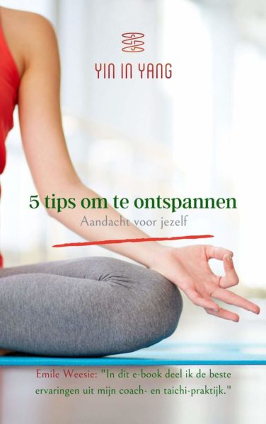 E-book 5 tips om te ontspannen
